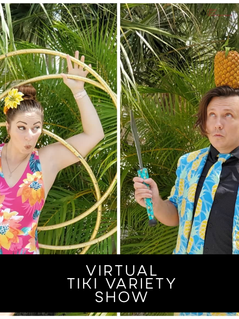 Virtual Magic and Circus Shows (Online Entertainment)