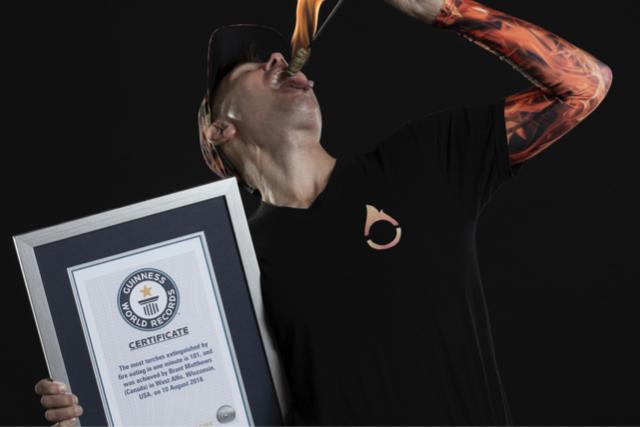Guinness World Record Holder