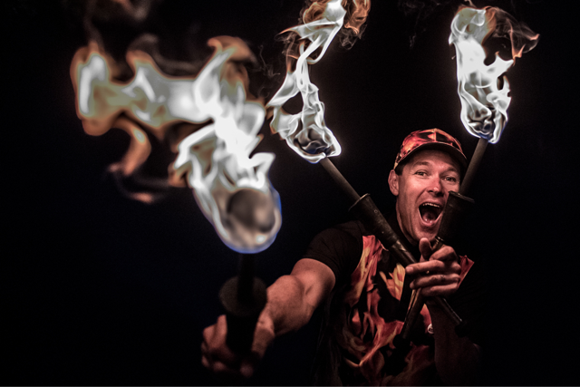 Fire Eater in Florida