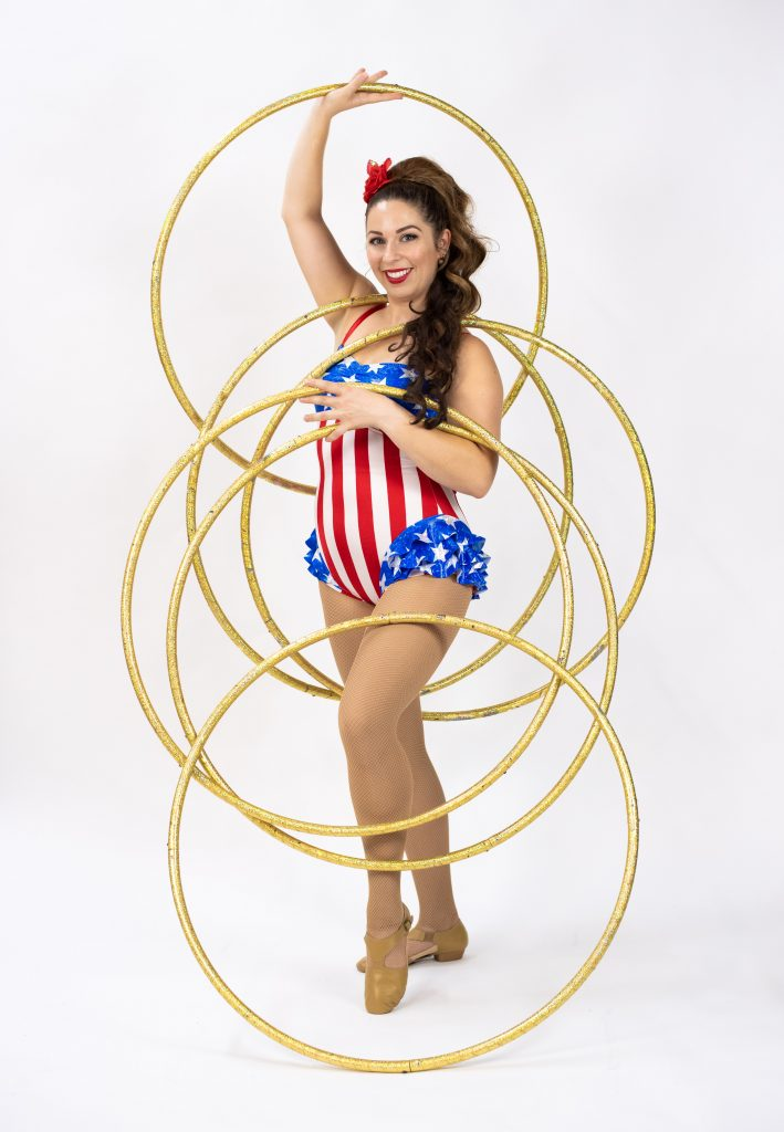 Hula Hoop Girl in Florida