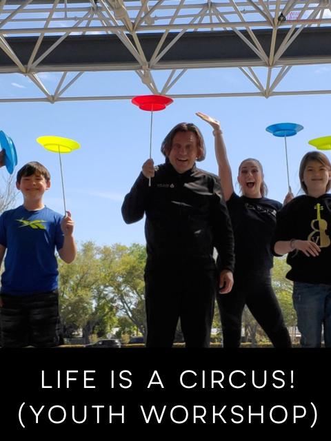 Kids Educational Circus Workshop Camp