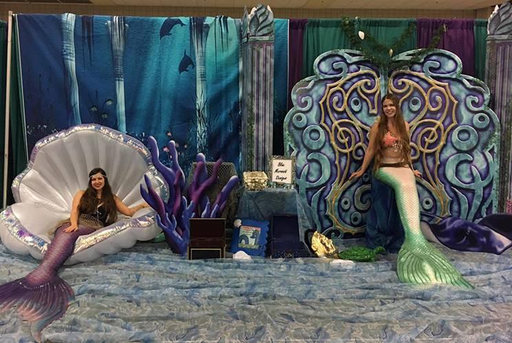 Mermaid Dry Set Ups