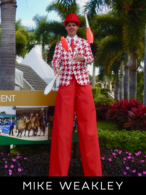 Central Florida Stilt Walker