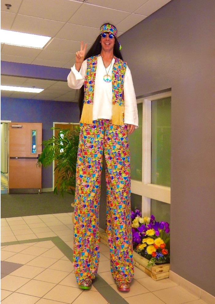 Hippie Stilt Walker FL