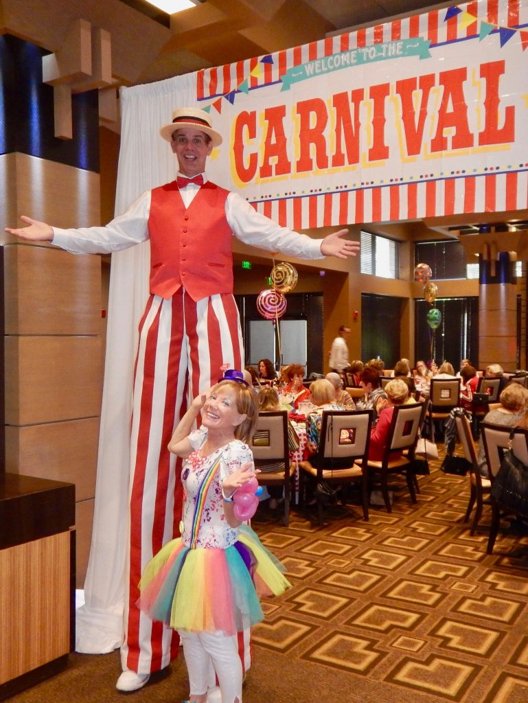 Stilt Walker in Orlando