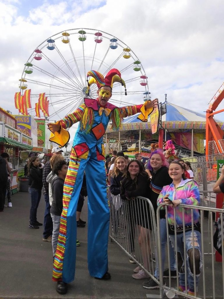 Carnival Stilt Walker FL
