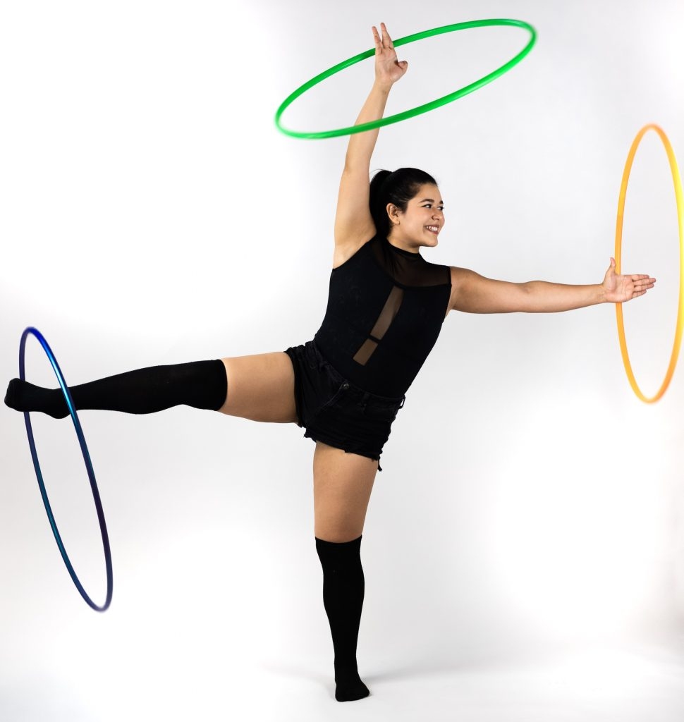 Hula Hoop Girl in Florida