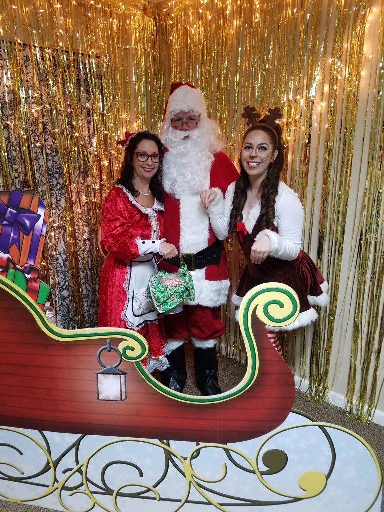 Christmas Characters Entertainment SWFl